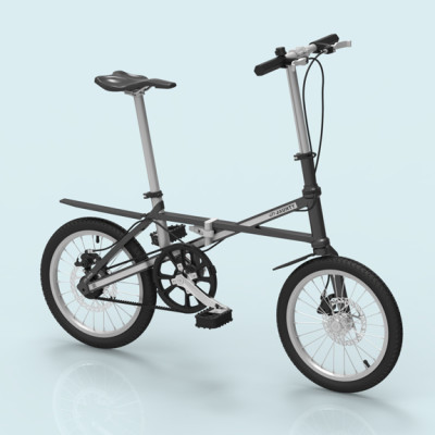 Foldable Commuter Bike gray02l