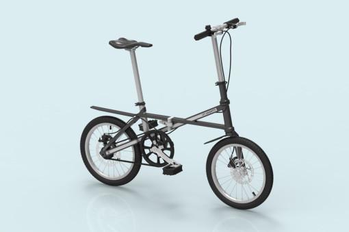 Foldable Commuter Bike gray02l