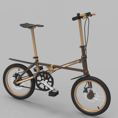Light Weight Folding Bike classic02l