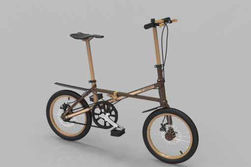Light Weight Folding Bike classic02l