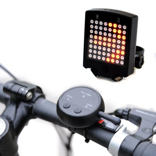 Rear Bike Light With Turn Signals 1