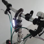 USB Rechargeable Front Bike Light 5