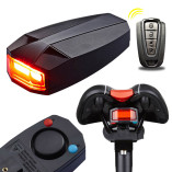 Wireless Bike Alarm Rear Light 6