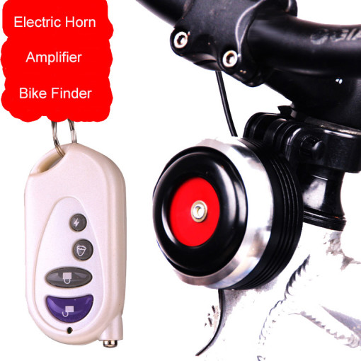 bike alarm system and horn 1