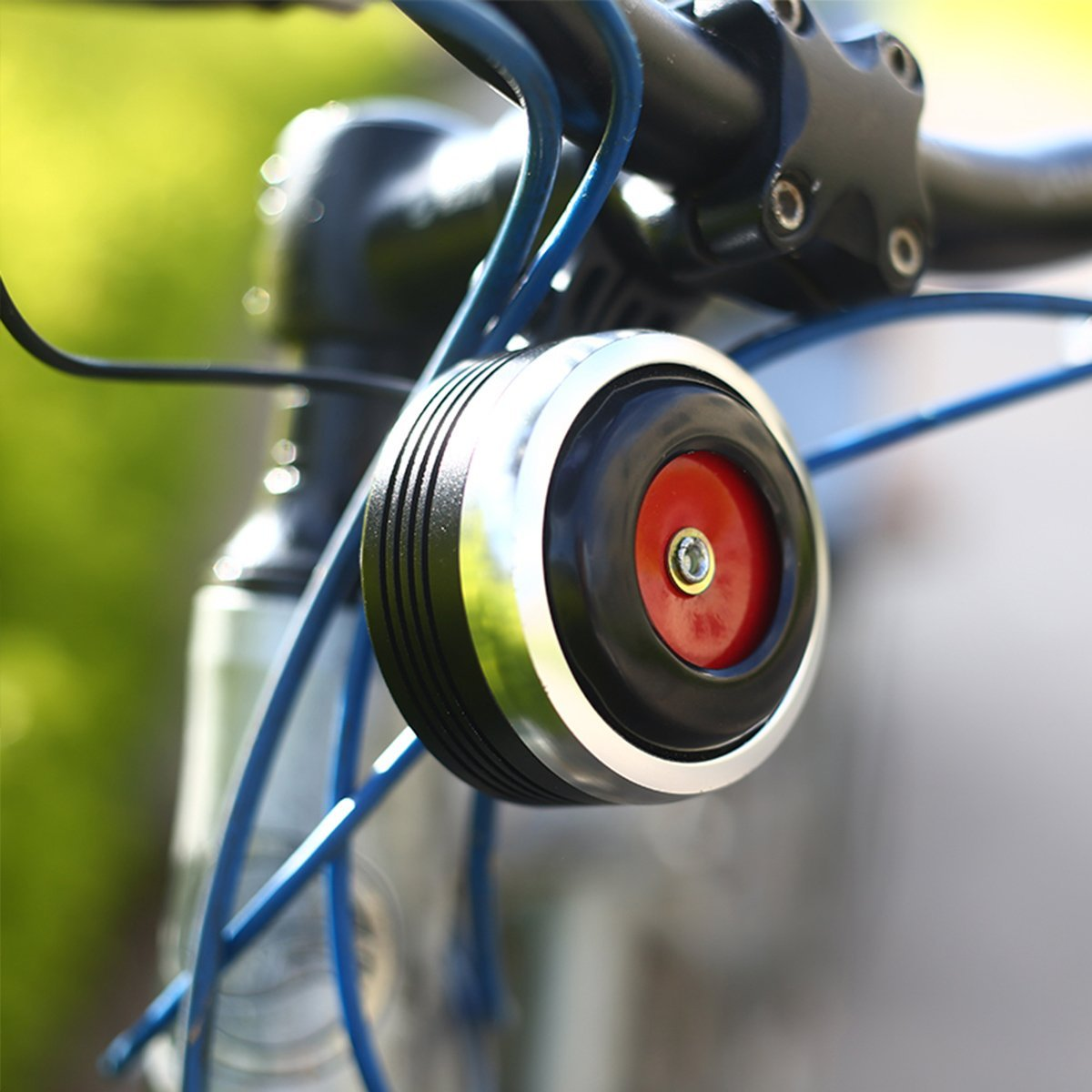Electric Bike Horn Bicycle Alarm With Remote