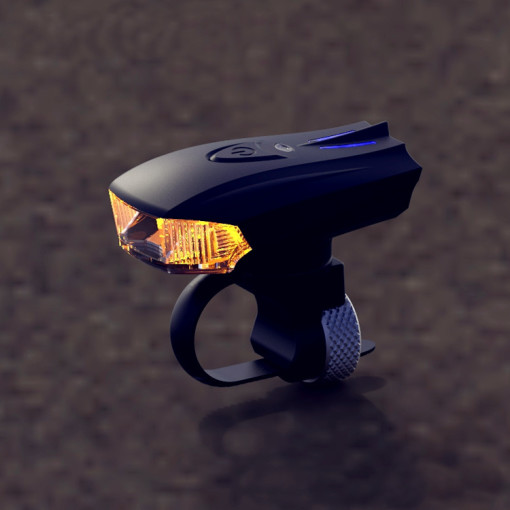 rechargeable front bike light 1