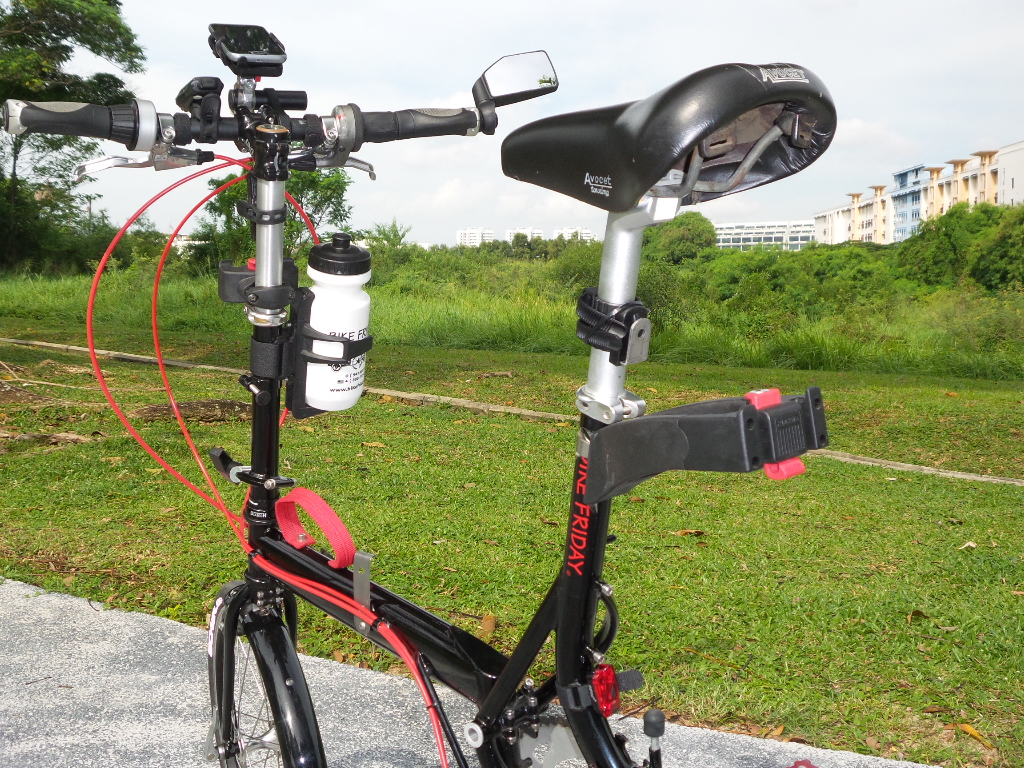 Bicycle Lock Holder